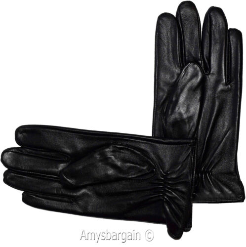 New Italian styled Man/'s Fine leather gloves winter gloves Guantes De Envierno