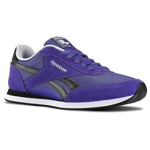Details zu Women's Ladies Reebok Royal Classic Trainer Shoes, Trainers, Sneakers Purple