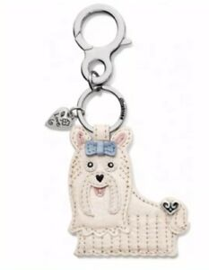 Details About Brighton Doodle Dog Prse Charm Key Fob New