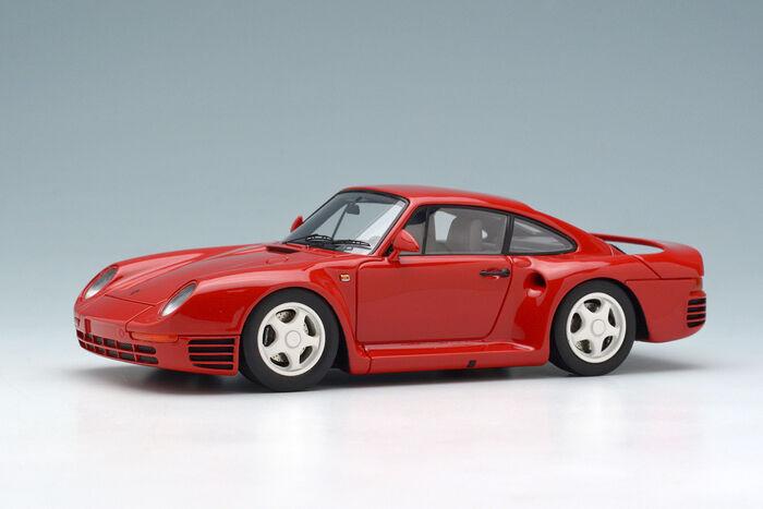 Makeup/EIDOLON EM305B 1:43 Porsche 959 1986 Red