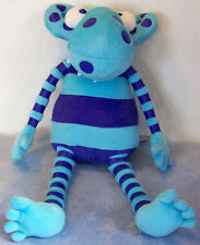 """FAO SCHWARZ (Not So) SCARY MONSTERS plush WILF THE MUDDLY 18"""" cuddly creature"""