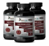 Immune Boost - Blood Pressure Control Formula - Hawthorne Berry - 3 Bottles