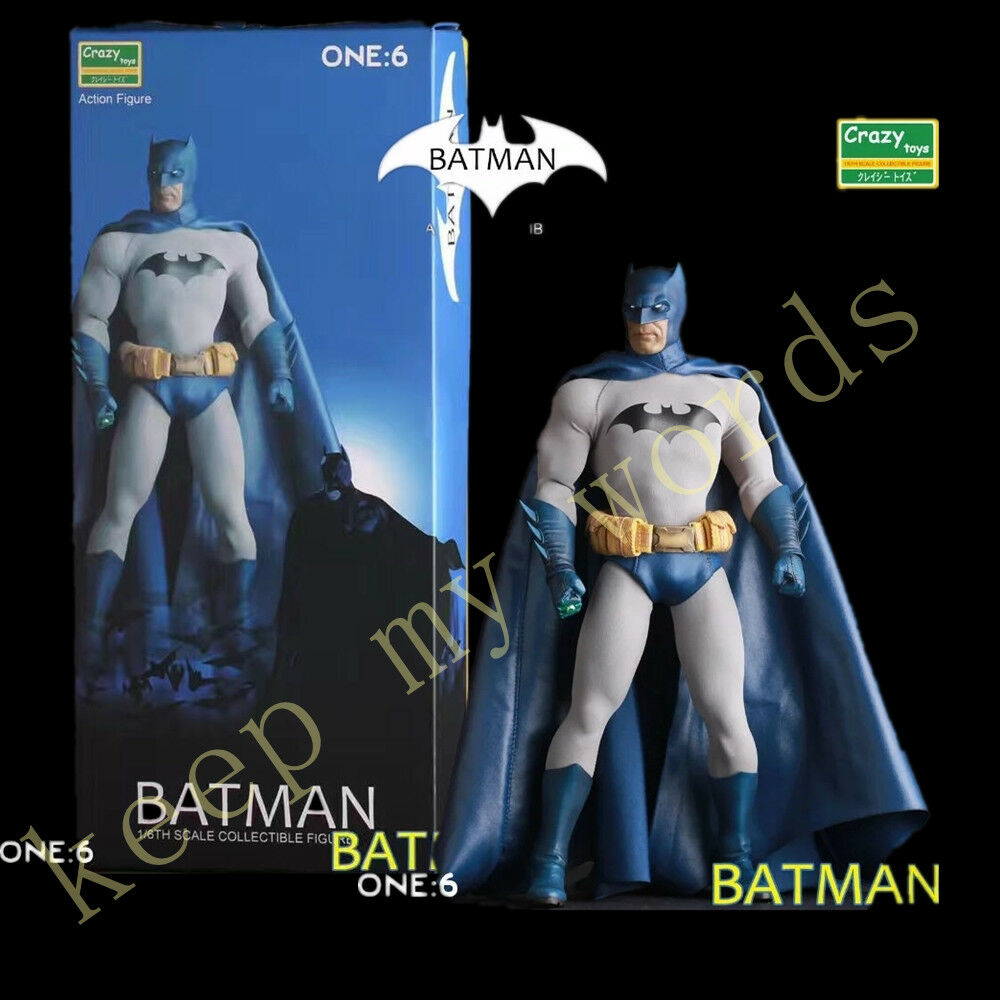 CRAZY TOYS COMICS brave and bold BATMAN 1/6TH SCALE COLLECTIBLE ACTION FIGURE