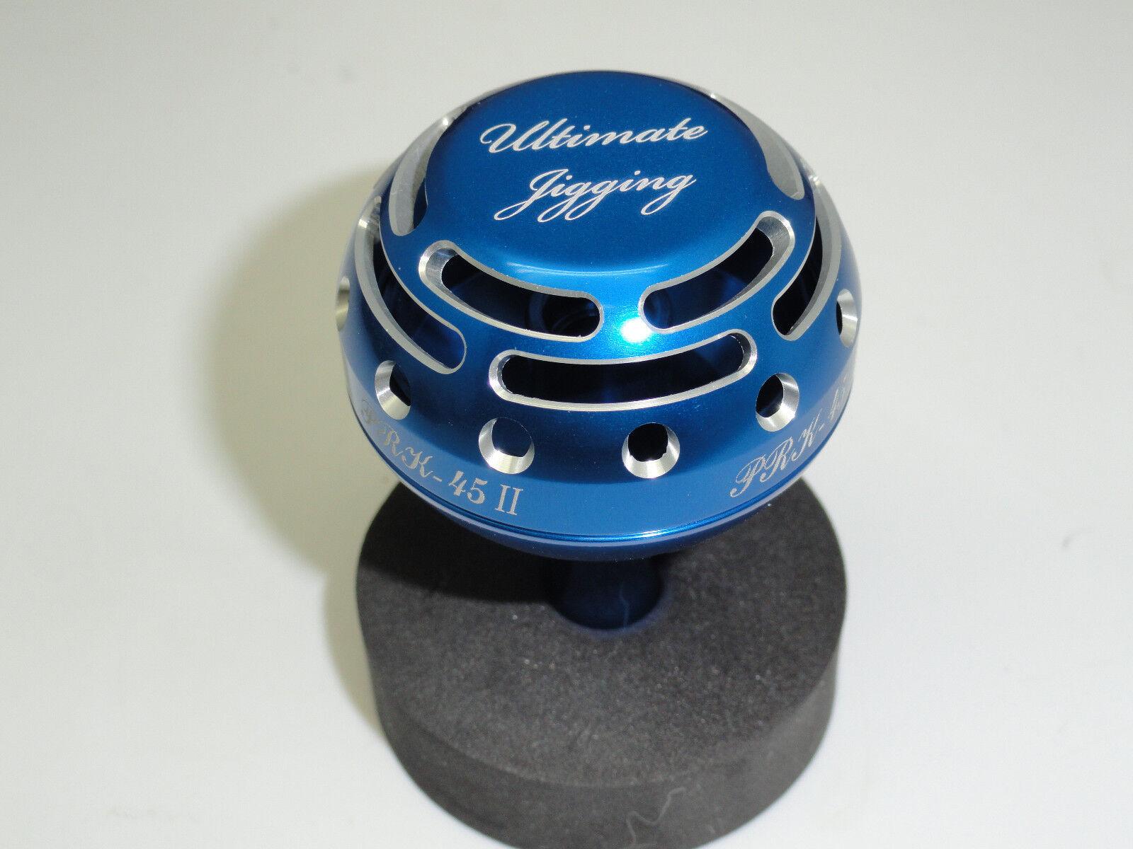 UJ PRK 45 type II knob FITS Daiwa Saltiga Saltist Seabort Tanacom reel bluee SV