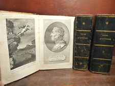 De Lantier : Viaggi d'Antenore Grecia e Asia Venezia 1804 7 volumi Tavole incise