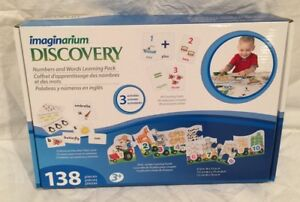 Imaginarium-Discovery-138-Piece-Numbers-amp-Words-Activities-Learning-Pack-NEW