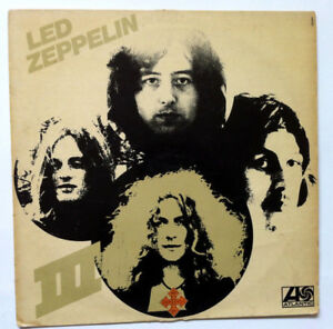 LED-ZEPPELIN-III-VINYL-record-33-T-940-051-Atlantic-France-1970-Unique-Cover