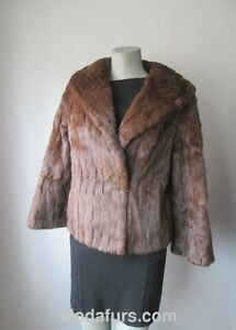 Women-039-s-Sz-8-Squirrel-Fur-Jacket-Bolero-MINT-CLEARANCE-SALE