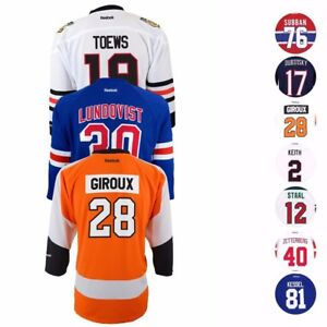 NHL-Official-REEBOK-Replica-Team-Player-Hockey-Jersey-Collection-Boy-039-s-SZ-4-7