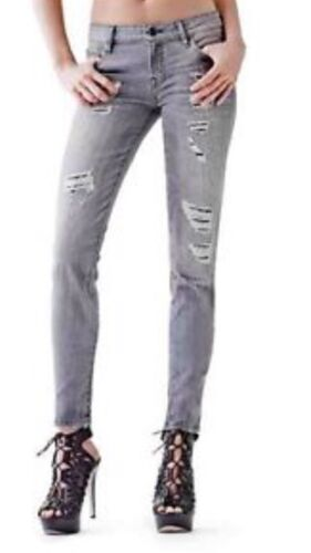 Jeans Destroyed Stigning Guess 23 Wash Details Create Skinny Power Curvy I Mid Ny q4ARw
