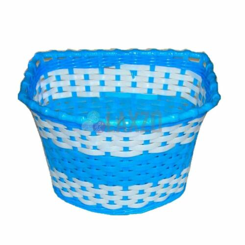Blue Girls Bicycle Basket Flower//Shopping Childs//Childrens//Kids Bike//Cycle