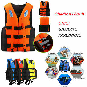 Adult-Adjustable-Buoyancy-Aid-Sailing-Swimming-Fishing-Boating-Kayak-Life-Jacket