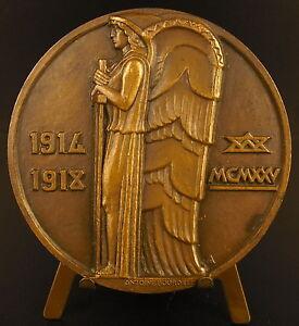 Medal-Crypt-of-Old-Armand-Hartmannswillerkopf-Antoine-Bourdelle-Lavriller