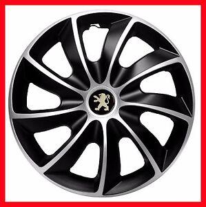 4x14 wheel trims wheel covers fit peugeot 206 306 107v106 partner 14 full set ebay. Black Bedroom Furniture Sets. Home Design Ideas