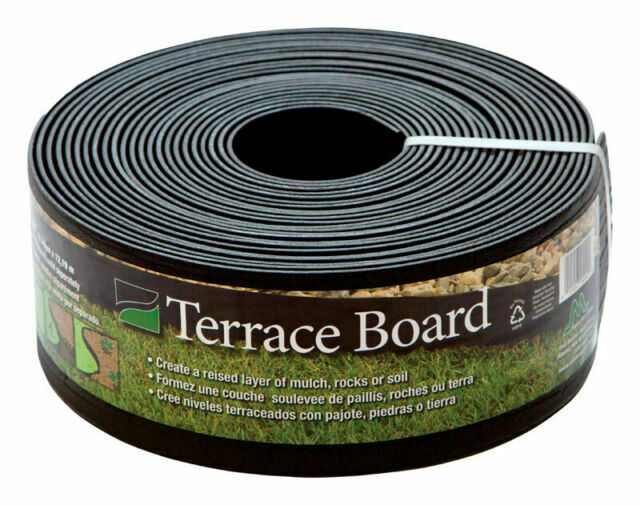 Master Mark Terrace Board 4 In H X 40 Ft L Lawn Edging Brown For Sale Online Ebay