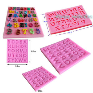 Letters Shape Silicone Mould DIY Fondant Cake Mold Cake Decoration Tools #2