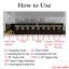 miniature 7 - 5V/12V/24V LED Conducteur Alimentation Adaptateur Transformateur DIY 15W - 720W