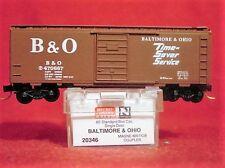 MTL 20346 BALTIMORE & OHIO 40' Box Car 'Time-Saver Service' #470687 MINT N-SCALE
