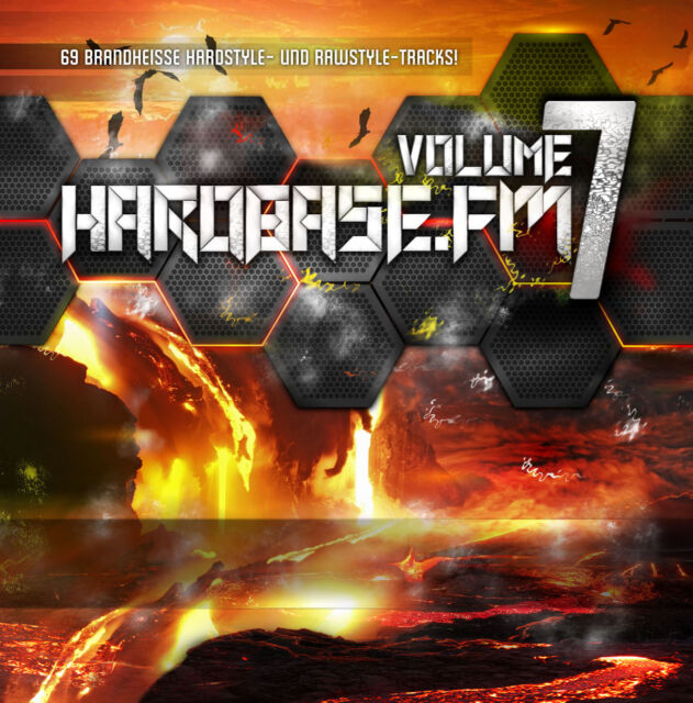 CD HardBase.FM Volume Seven! von Various Artists 3CDs