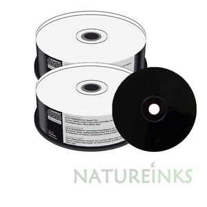 50-MediaRange-Negro-Inferior-Cd-r-Completo-Cara-Blanca-Imprimible-52x-700-Mb-mr241
