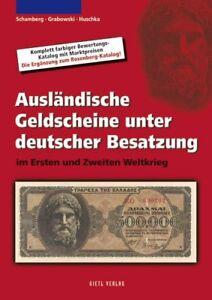 Ausländische Geldscheine Unter Deutscher Besatzung