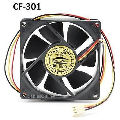 Power Supply Sleeve Bearing Cooling Fan 703321 3-Pin 60mm CPU Case