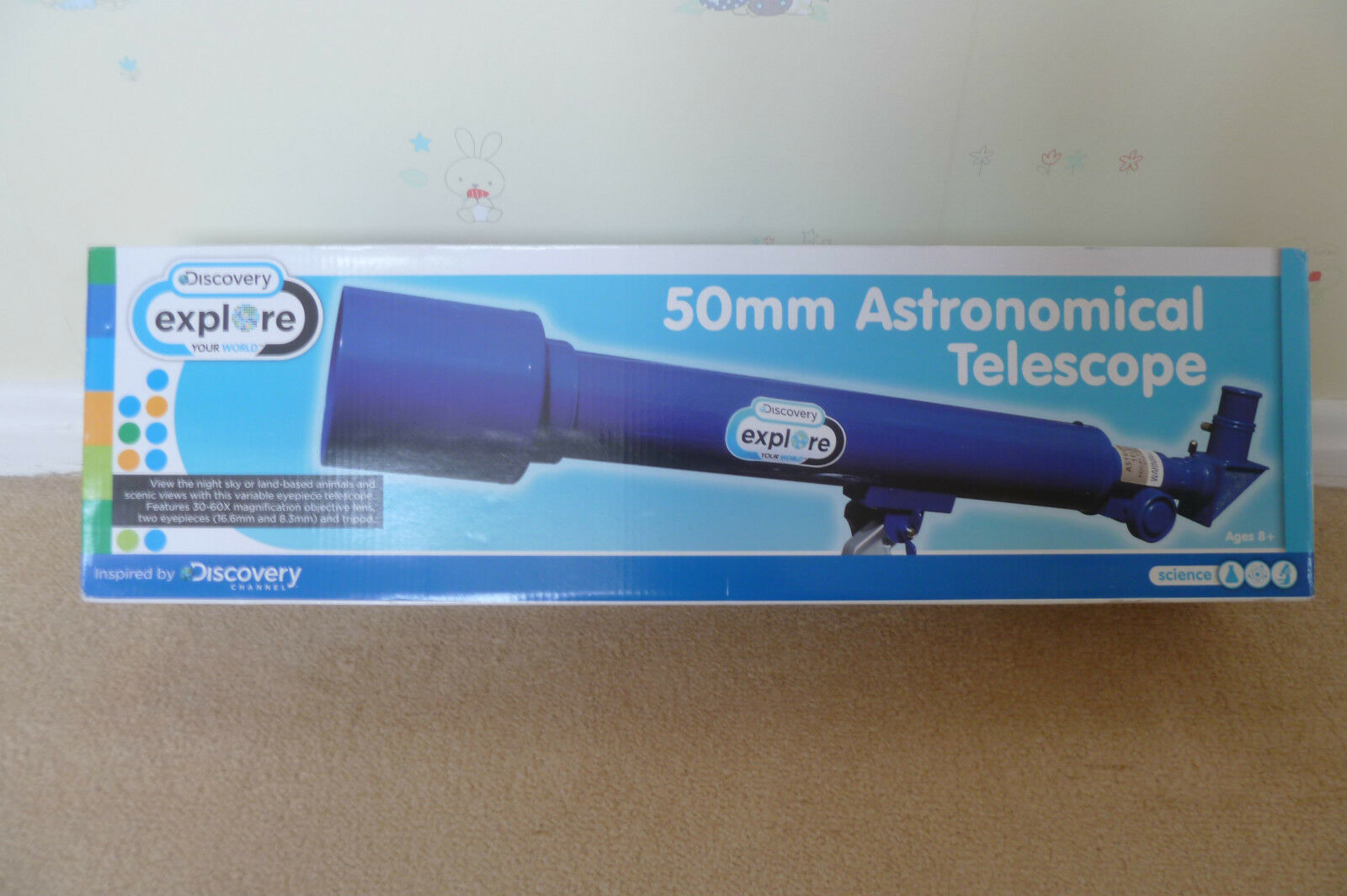 Discovery 50mm Astronomical Telescope with tripod