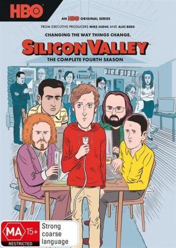 1 of 1 - Silicon Valley : Season 4 (DVD, 2017) NEW