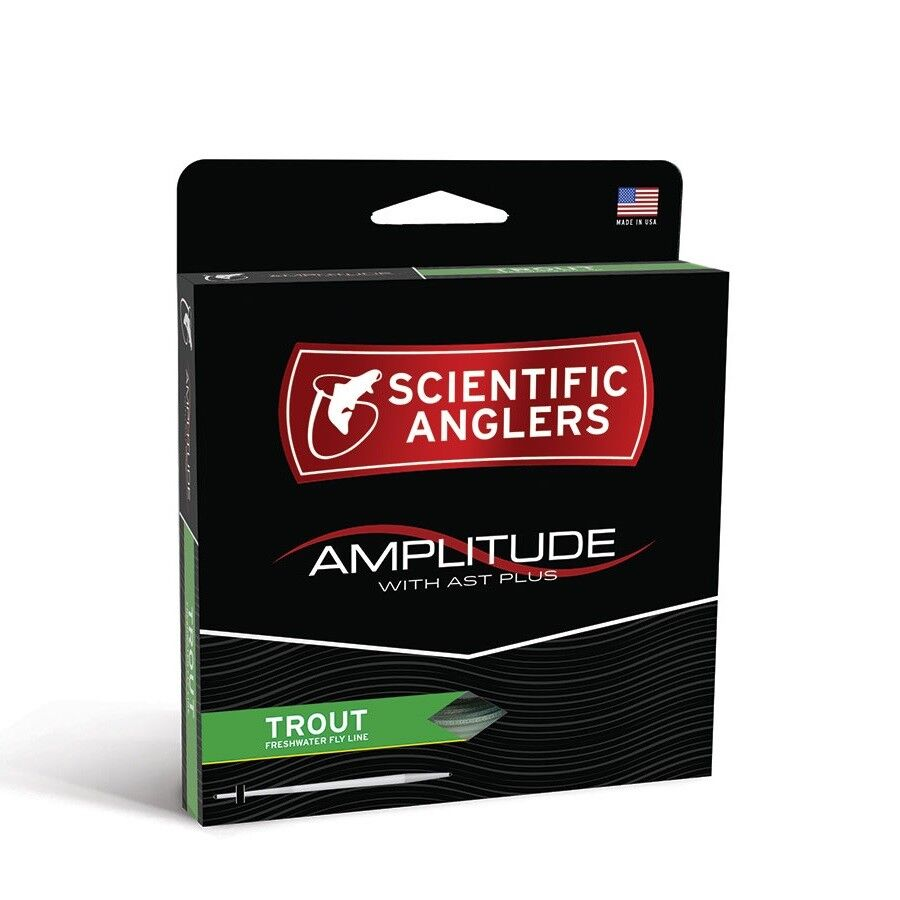 S A Amplitude Trout Fly Line - WF4F - New