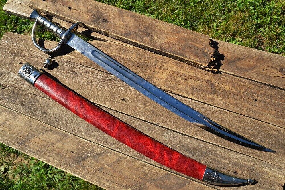 England S.XVIII 4196 denix pirate sword Edward Teach blackbee bordeaux 1682-11718