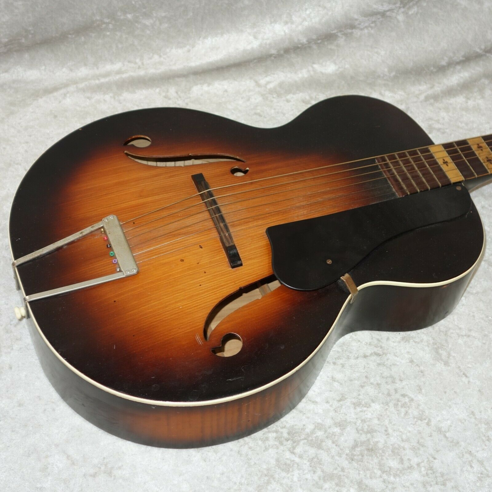 Melody King hollow body arch top acoustic guitar