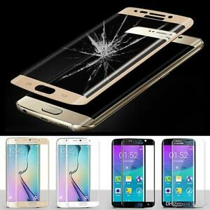 FULL-COVERED-3D-TEMPERED-GLASS-SCREEN-PROTECTOR-FOR-SAMSUNG-GALAXY-S6-EDGE-GOLD