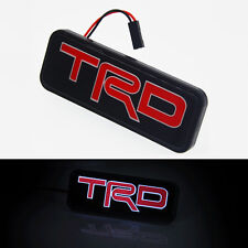 Brand New 1 Ps TRD LED Emblem Car Front Grill Kidney Grille Badge For All Toyota