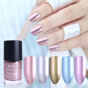 BORN-PRETTY-9ml-Metallic-Mirror-Nail-Polish-Metal-Rose-Gold-Manicure-Varnish-DIY