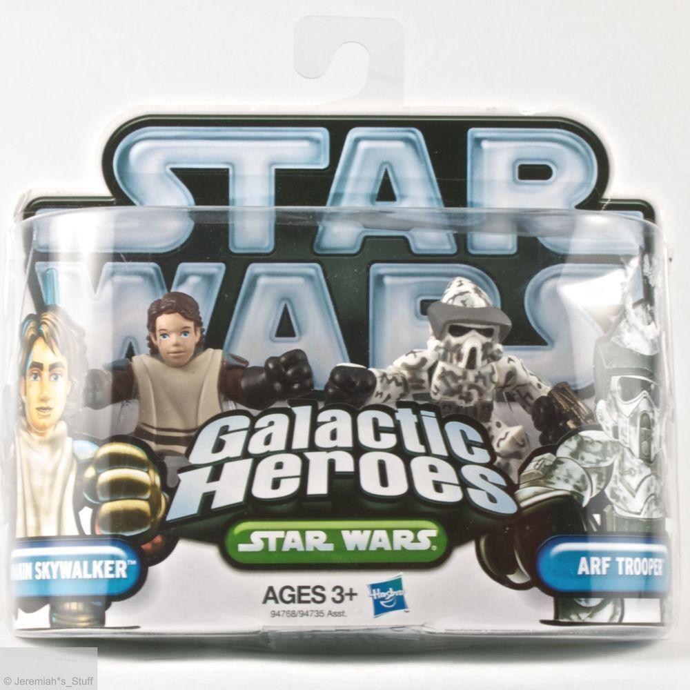 Star Wars Galactic Heroes 2010 2 Pack - Anakin Skywalker & ARF Trooper