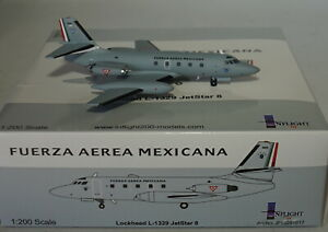 IF13291017-Lockheed-L-1329-Jetstar-8-3908-Mexicain-Air-Force-avec-Socle-1-200