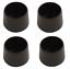 4 x Rubber Chair Ferrules AntiScratch Floor Protector Table Feet Leg Cap End 4Pk