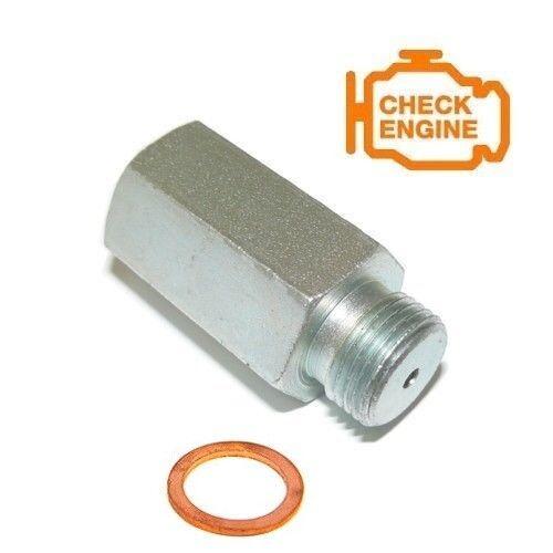 Lambda Eliminator Spacer Metallkat Lamda lamdasonde o2 OXIGEN Sonde Lambda Capteur