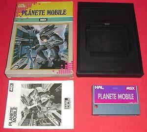 MSX-Planete-Mobile-EUR-RARE-HAL-Jeu-Sony-Canon-Hit-Bit-JRF