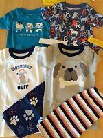 Gymboree Boys Gymmies Pajamas Pj 5 7 12 Set Shortie Cotton Puppy Pirates