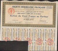 Société Immobilière Française (tunisie) (s)