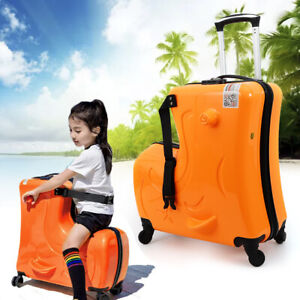Kids Ride On Suitcases On Wheels
