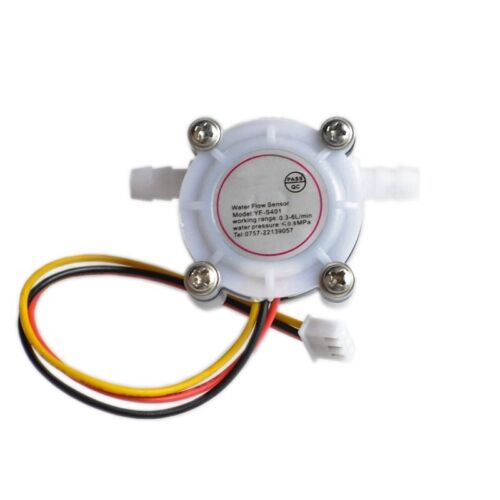 Water Coffee Flow Sensor Switch Meter Flowmeter Counter Fluid Control 0.3-6L//min