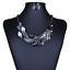 Women-Chunky-Fashion-Crystal-Bib-Collar-Choker-Chain-Pendant-Statement-Necklace thumbnail 60