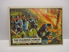 1962 Topps Civil War News Card # 61 The Flaming Forest Va.  May 5th 1864