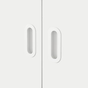 IKEA FRITIDS FRONT TÜR F. STUVA 2er-Pack 60x64cm WEISS 203.786.14 NEU