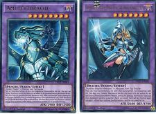 Yu-Gi-Oh! >Amulettdrache & Magier-Mädchen Drachenritterin< Ultra Rare DRL3-DE044