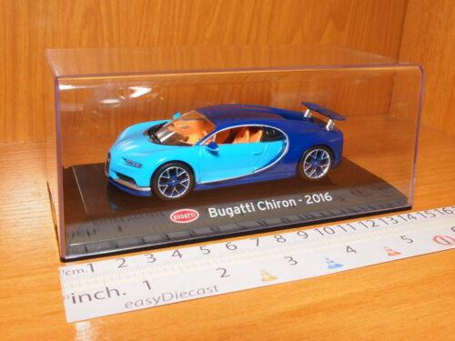 BUGATTI CHIRON 1:43 2016 BLUE