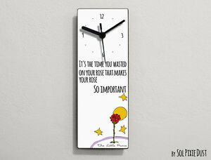 The Little Prince Quotes Le Petit Prince Quote It S The Time You Ebay