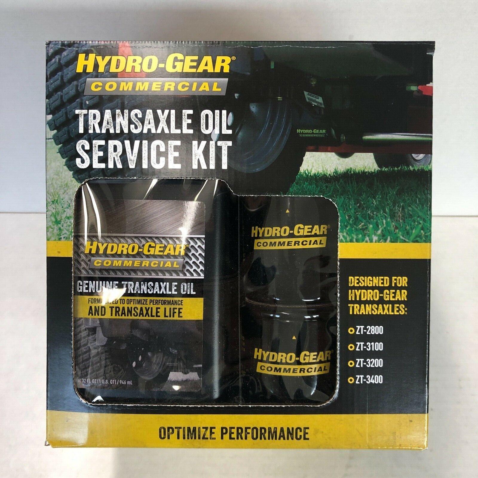Hydro-Gear Transaxle Aceite Kit de servicio para ZT-2800, ZT-3100, ZT-3200 y ZT-34004